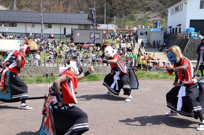 北上市展勝地桜まつり 2013 2013/04/29