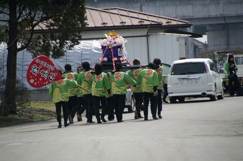 奥州市水沢区羽田町火防祭2010その1 2010/03/28