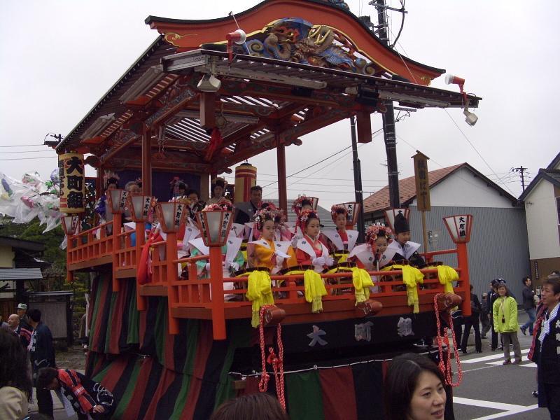 奥州市日高火防祭(本祭)2010その2 2010/04/29