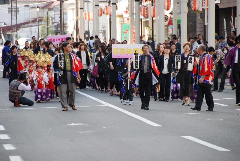 奥州市日高火防祭(前夜祭)2012 2012/04/28