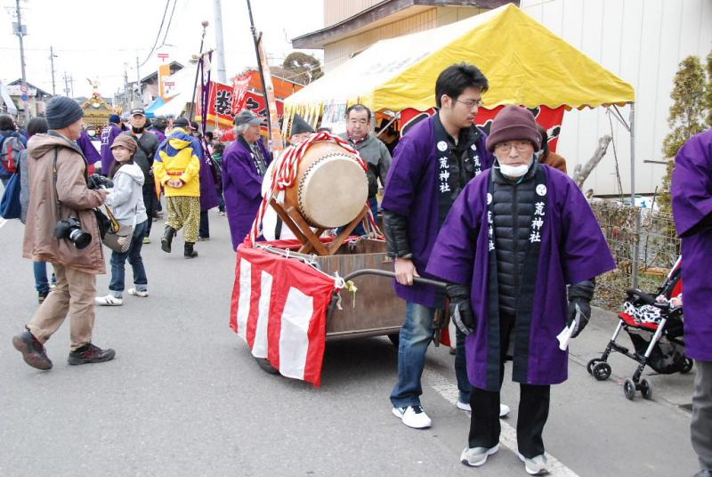 奥州市水沢区羽田町火防祭2013その1 2013/03/31