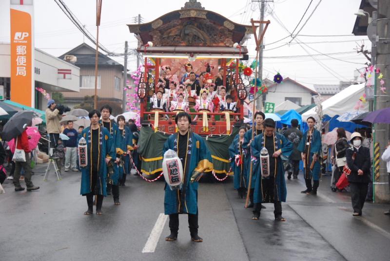 奥州市水沢区羽田町火防祭2014その1 2014/03/30