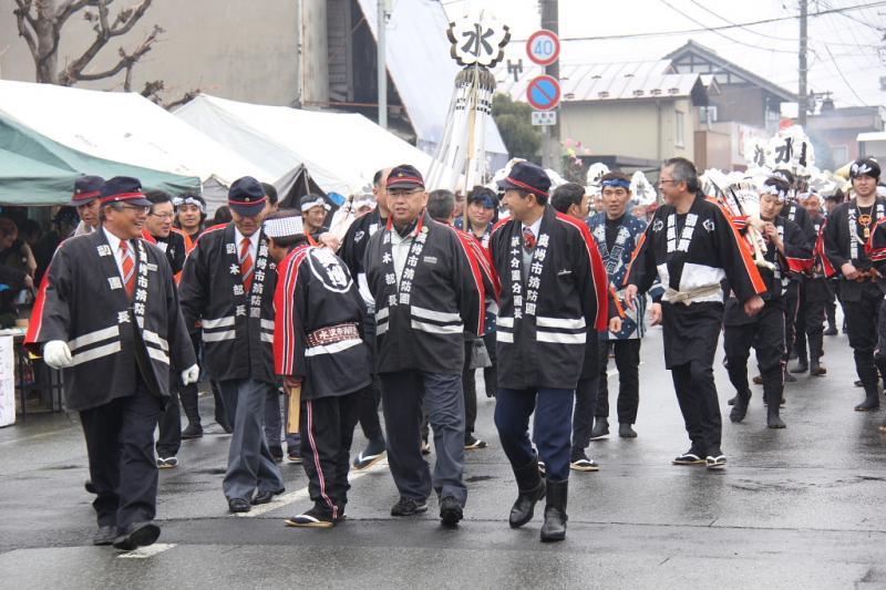 奥州市水沢区羽田町火防祭2014その2 2014/03/30