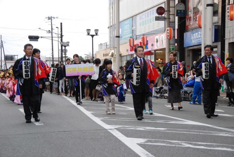 奥州市日高火防祭(本祭)2014その1 2014/04/28