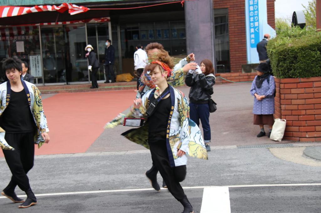 奥州市日高火防祭(本祭)2016パート2 2016/04/29