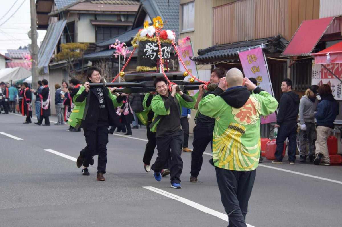 奥州市水沢区羽田町火防祭2017前編 2017/03/26
