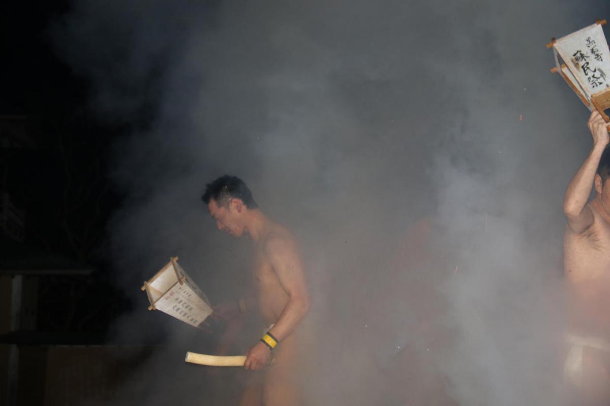 奥州・黒石寺「蘇民祭」(そみんさい)2018その1 2018/02/22