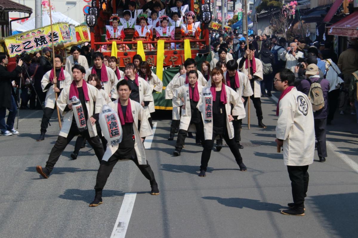 奥州市水沢区羽田町火防祭2018その4 2018/03/25