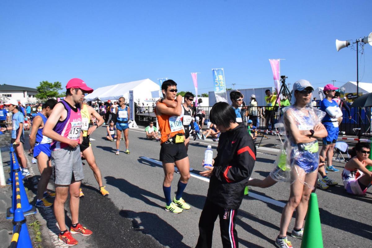 いわて奥州きらめきマラソン2018スタート・ゴール・表彰編1 2018/05/20