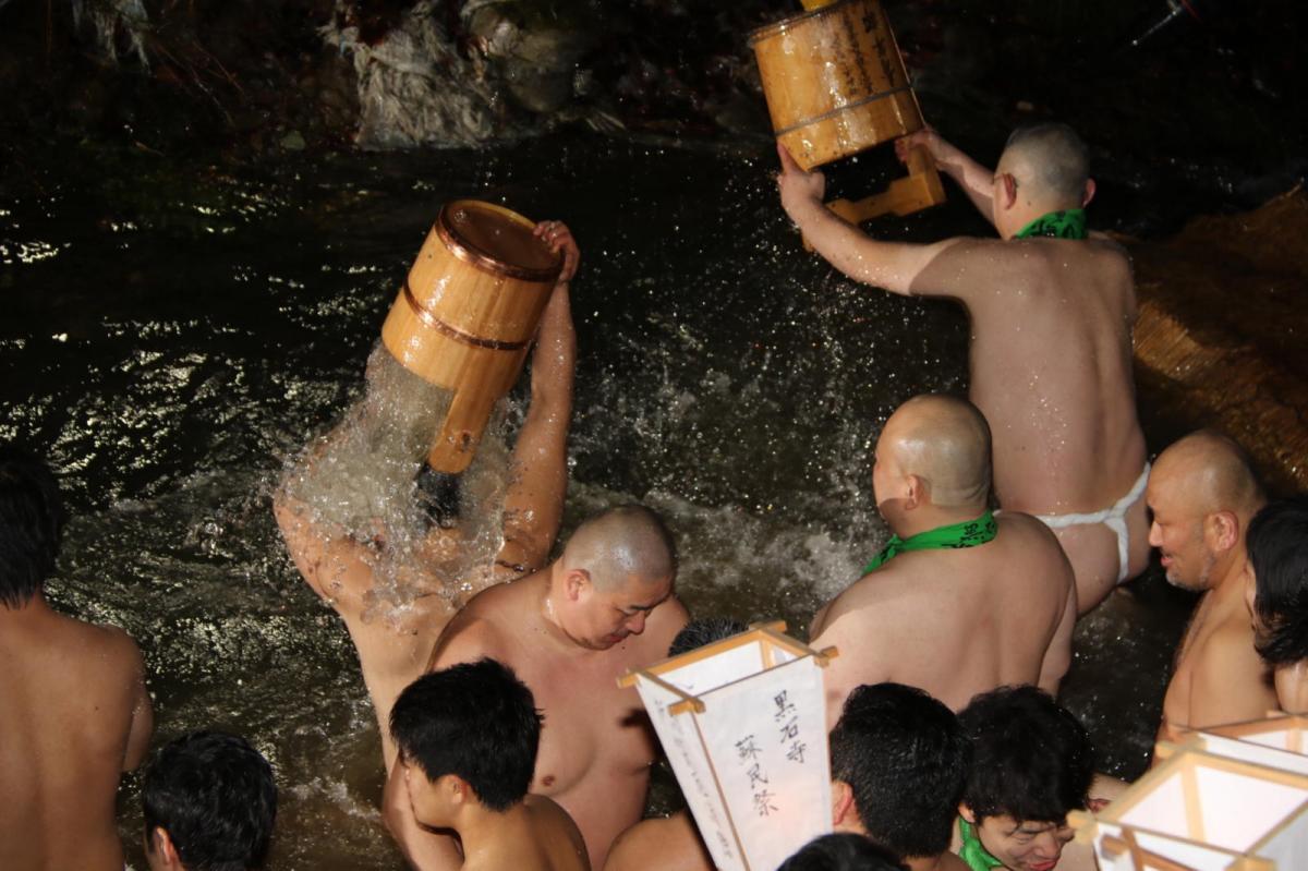 奥州・黒石寺「蘇民祭」(そみんさい)2020その2 2020/01/31